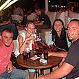 W - Nightlife in a Beach Town Bar